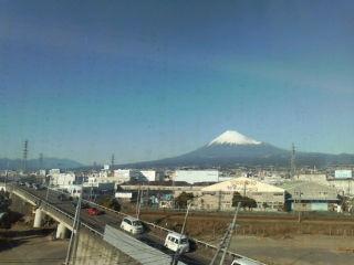 富士山はきれいでした