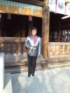 国府宮神社初詣