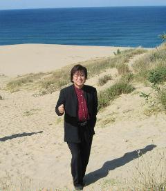 鳥取砂丘は大きかったです