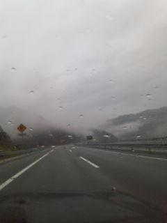 雨の五箇山
