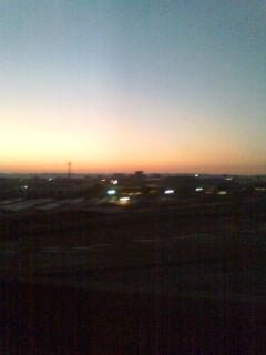 新潟の夕焼けは最高(^-^)