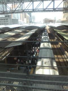 大阪駅は変わりましたね