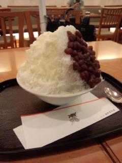 かき氷(^.^)